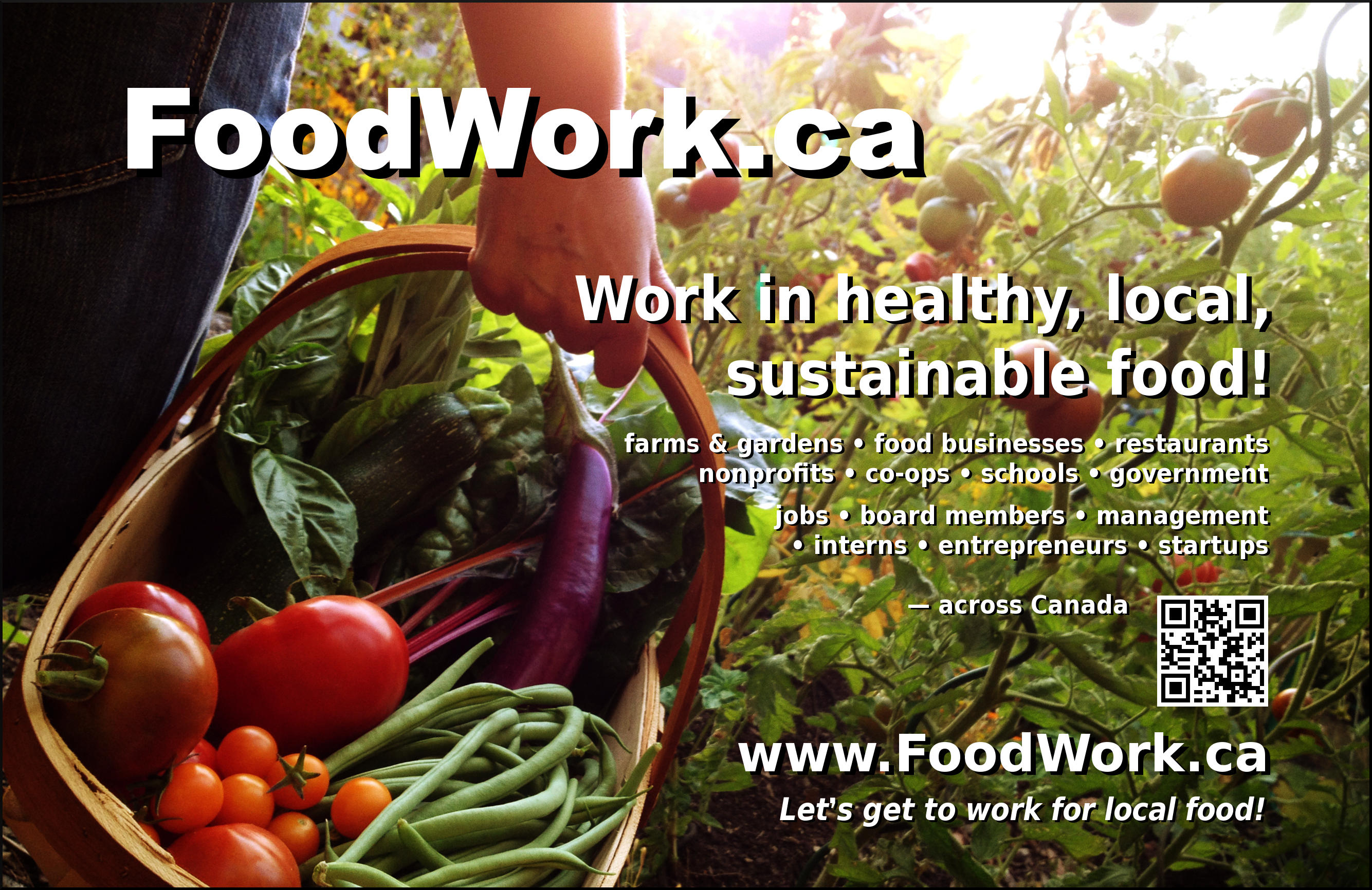 Local and organic food jobs: FoodWork.ca